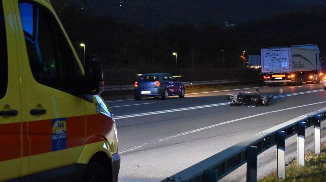 L'auto che viaggiava in modo scorretto era stata segnalata
