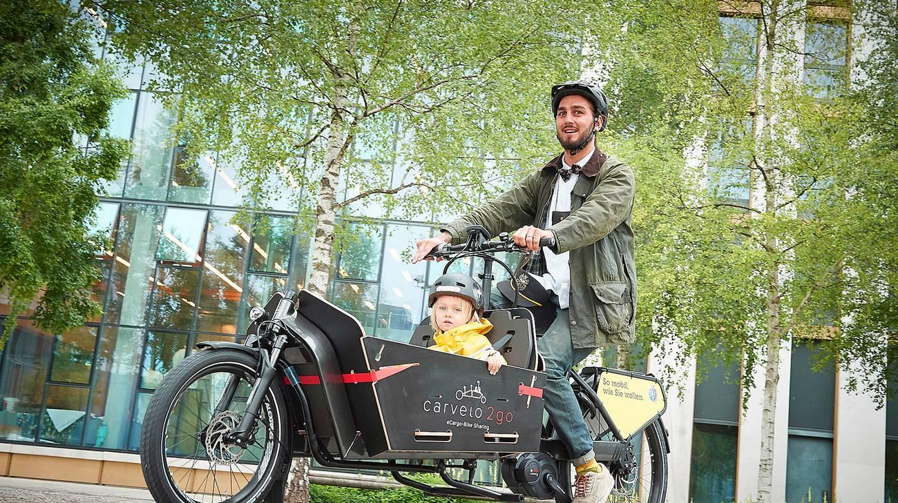 Le bici cargo, per viaggiare con bimbi o merci, per la prima volta in Ticino