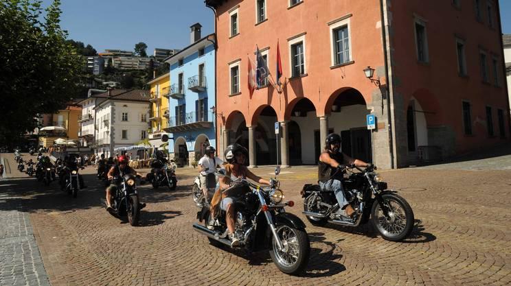 Le moto animeranno ancora Ascona il primo weekend di giugno