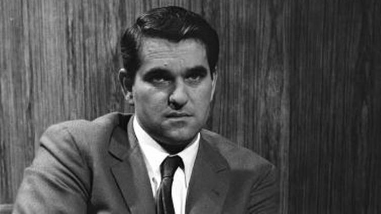 Leandro Manfrini nel 1967, anno del suo ingresso in RTSI