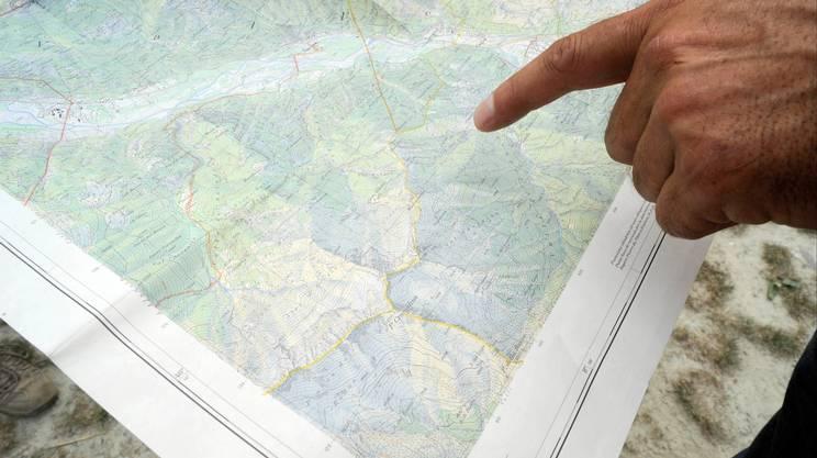 L'estensione della riserva forestale