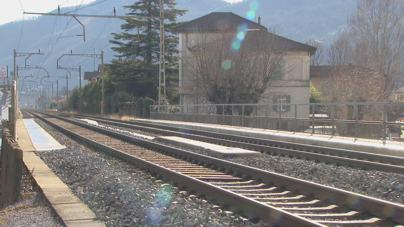 L'incidente si è verificato ad alcune centinaia di metri dalla stazione