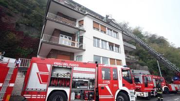 Incendio a Como, quattro morti