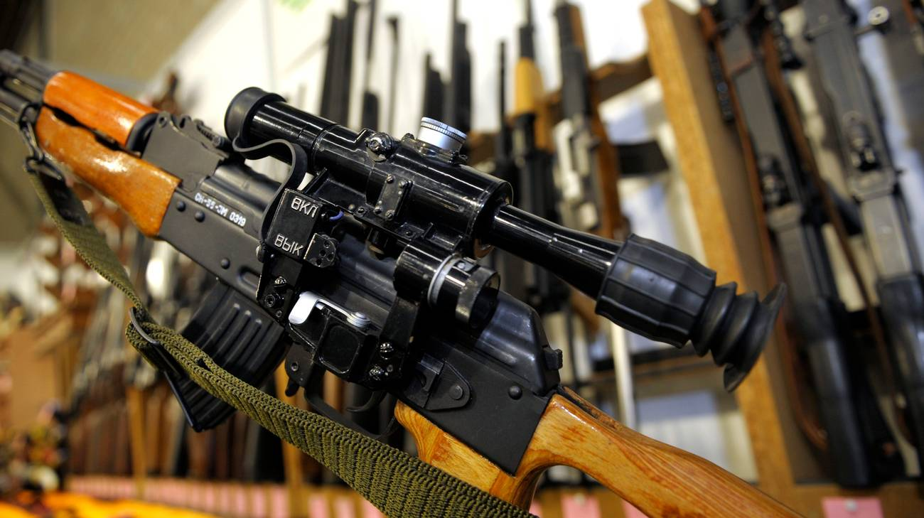 Lo studente della Commercio possedeva pure un fucile Kalashnikov