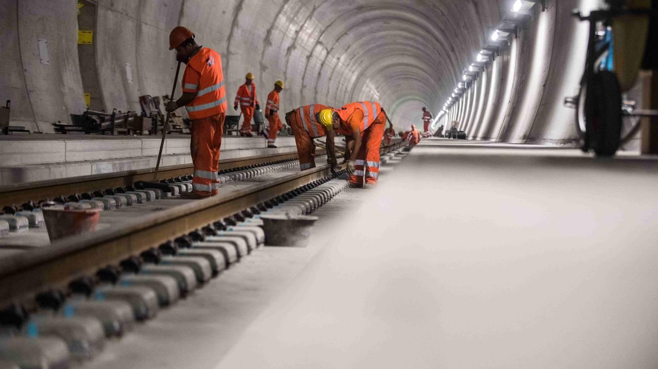Lugano condivide l'esigenza di concludere Alptransit a sud senza aspettare il 2050