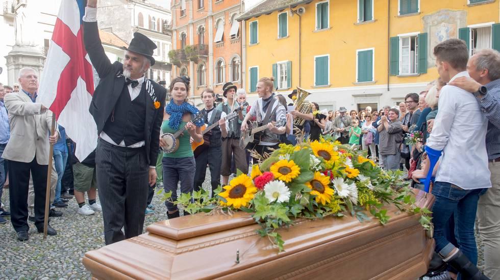 I funerali di Dimitri