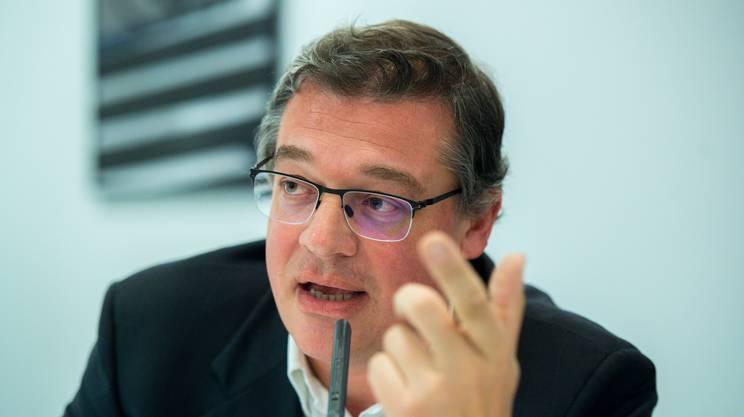 Matteo Caratti, direttore de laRegione