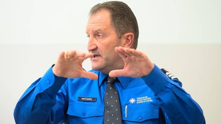 Mauro Antonini, comandante della regione IV delle guardie di confine