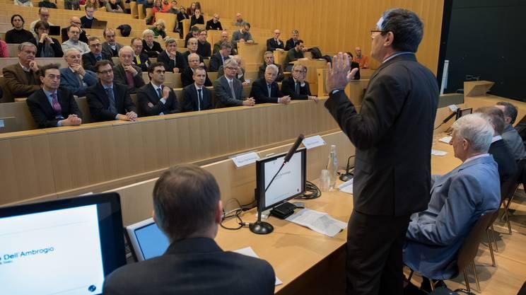 Mauro Dell'Ambrogio ha sottolineato l'importanza dell'iniziativa USI per tutta la Svizzera