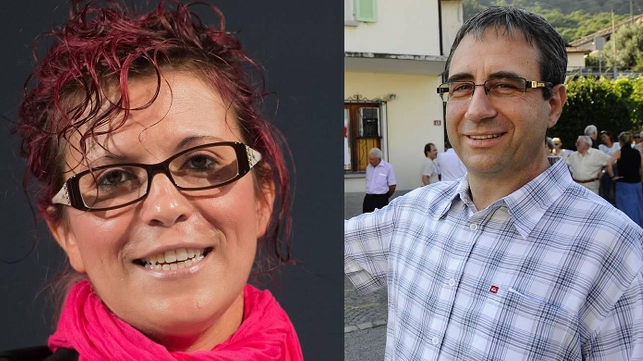Mirante (PS) e Gatti (PLR)