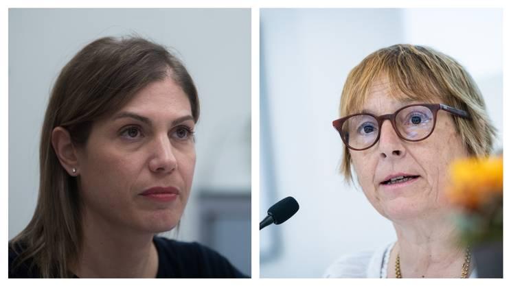 Nadia Ghisolfi e Maddalena Ermotti-Lepori