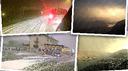 Problemi viari per il temporale