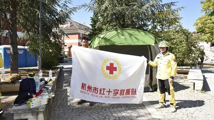 Squadre di soccorso sono arrivate anche dall'estero
