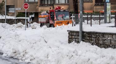 Bellinzona si prepara per la neve