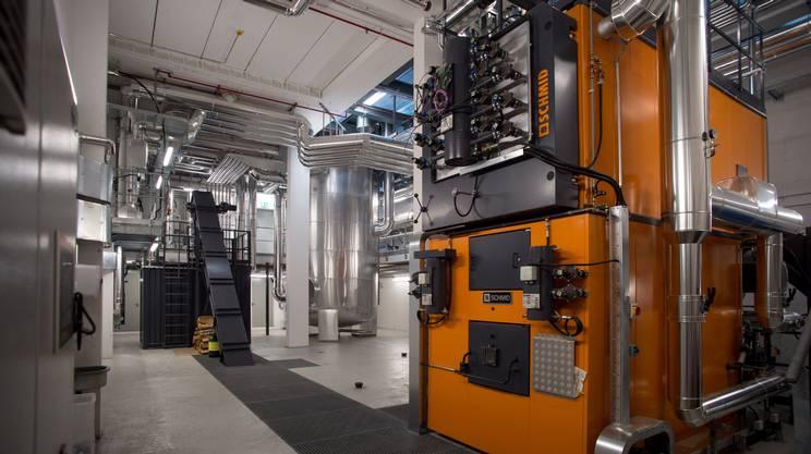 Una centrale termica dell'AIL