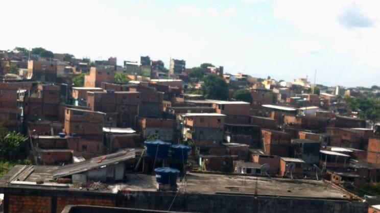 Una delle favelas dove è attiva l'associazione