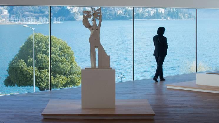 Una delle sculture