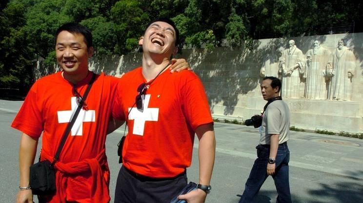 I cinesi alla scoperta della Svizzera