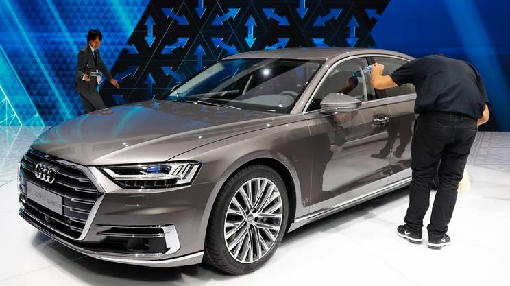 L'Audi A8 è la prima auto di serie dagli elevati contenuti per la guida autonoma