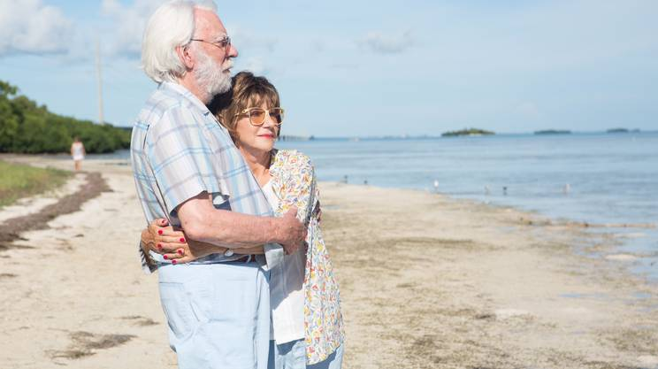 Helen Mirren e Donald Sutherland sfuggono ai figli in camper in The Leisure Seeker