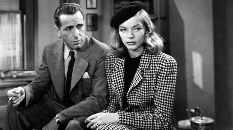 Humphrey Bogart e Lauren Bacall in