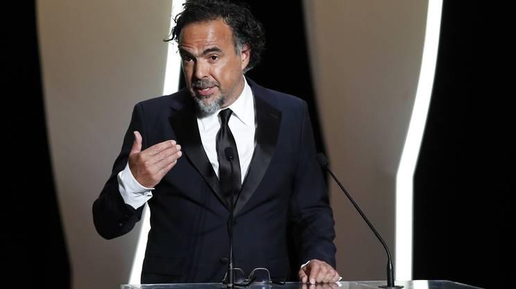 Il presidente della giuria Alejandro Gonzalez Iñarritu