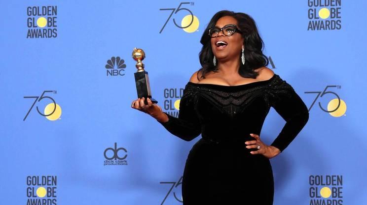 Oprah Winfrey ha ricevuto il premio Cecil B. DeMille alla carriera