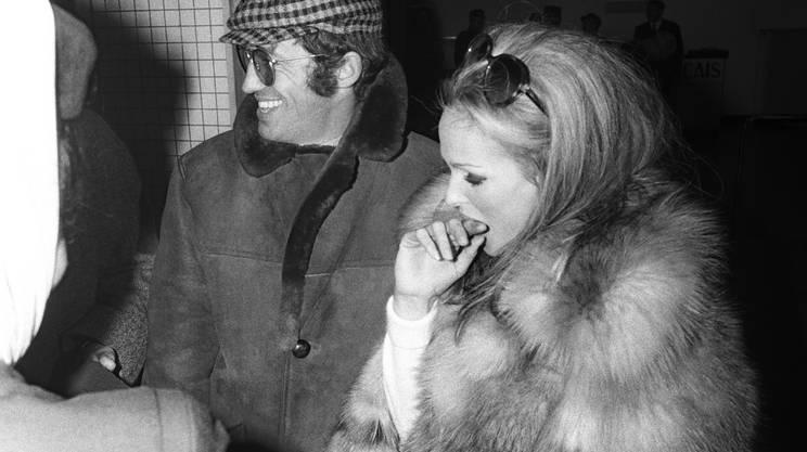Jean-Paul Belmondo e Ursula Andress nel 1968