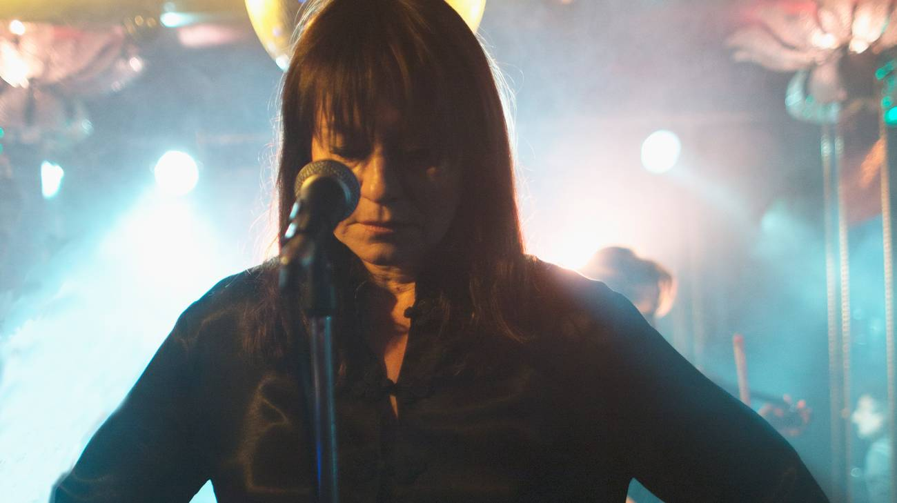 L'attrice e cantante danese Trine Dyrholm interpreta Nico