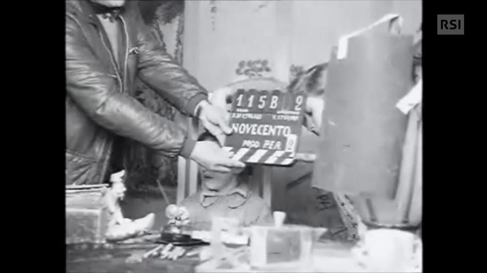 Bernardo Bertolucci intervistato nel 1975 durante le riprese di Novecento