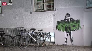Zurigo, non è stato Banksy