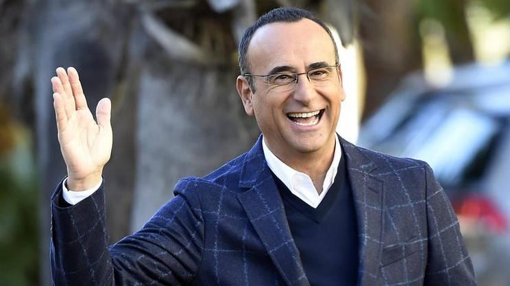 Il presentatore Carlo Conti