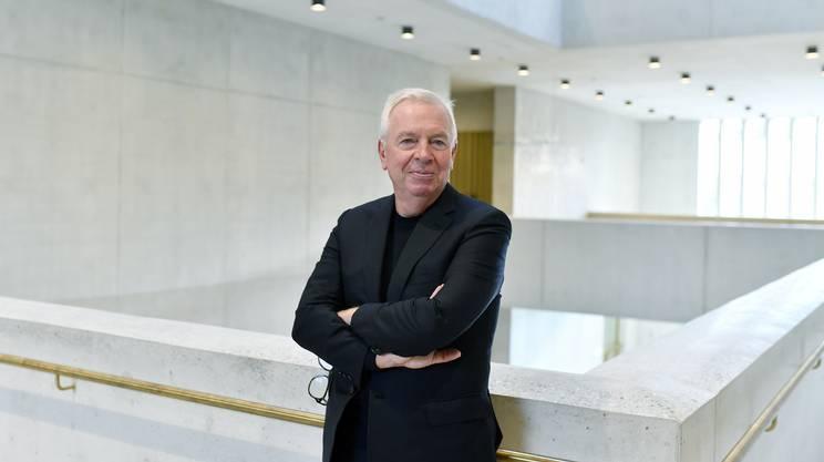 L'architetto David Chipperfield
