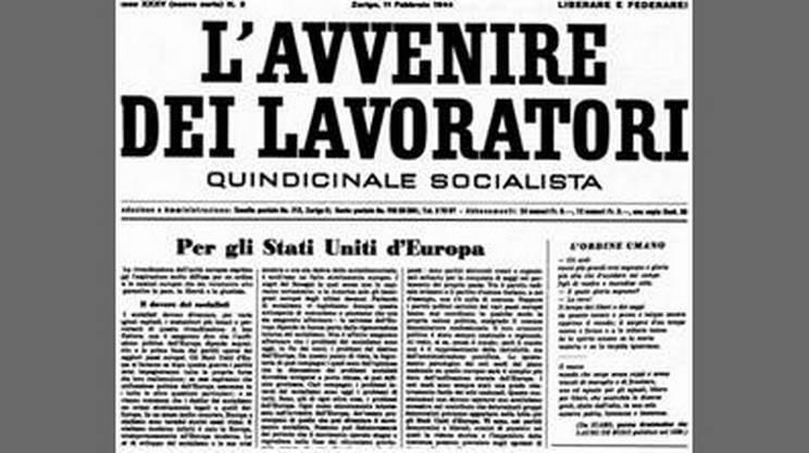 L'attuale nome è invariato dal 1944 quando alla guida del giornale a Zurigo c'era Ignazio Silone