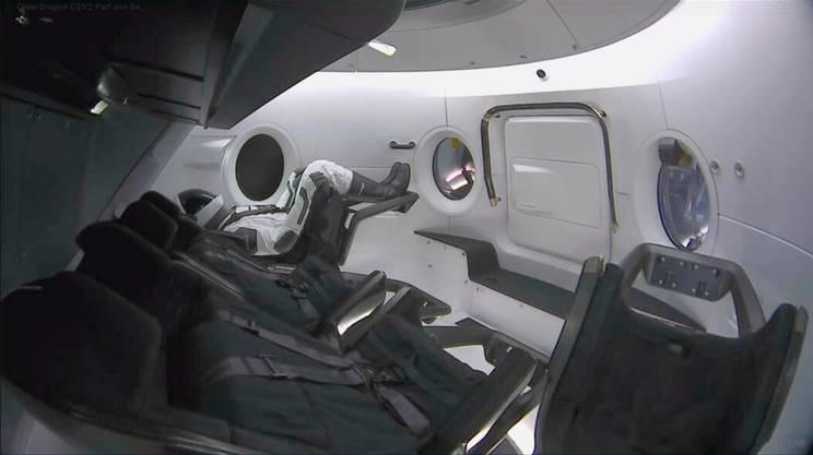 Crew Dragon, la capsula di SpaceX, sarà uno dei due possibili veicoli