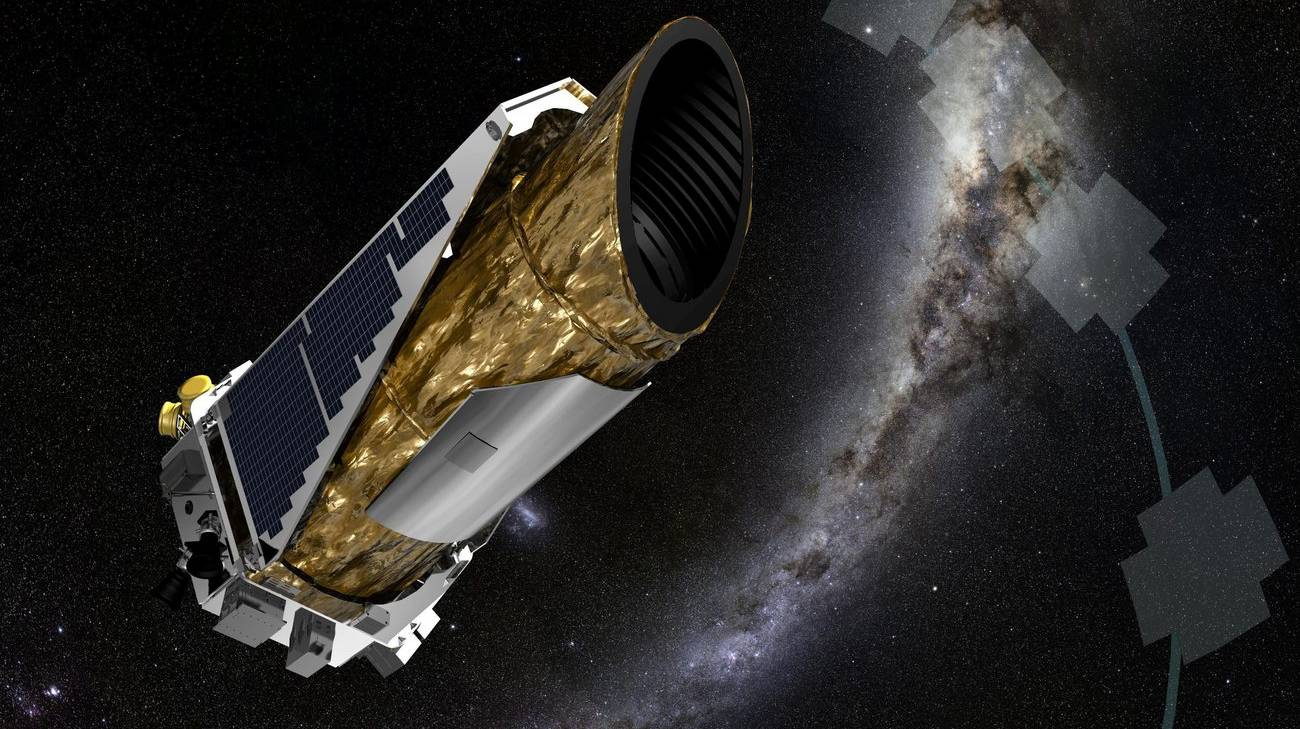 Il cacciatore di pianeti Kepler in missione per la NASA