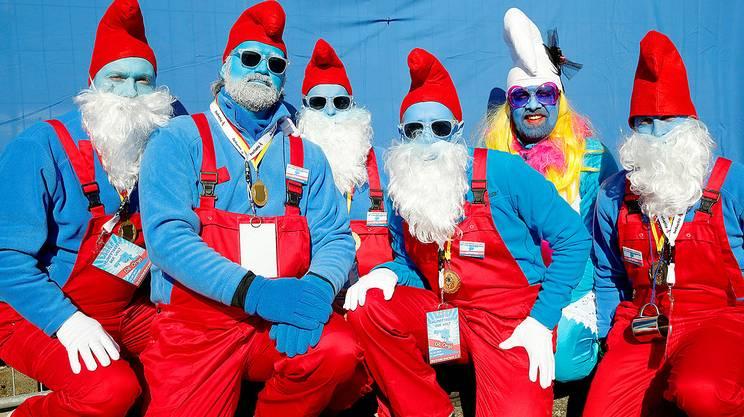 Si puffi chi può! In Germania il nuovo primato di persone camuffate da 'omini blu': erano 2'762