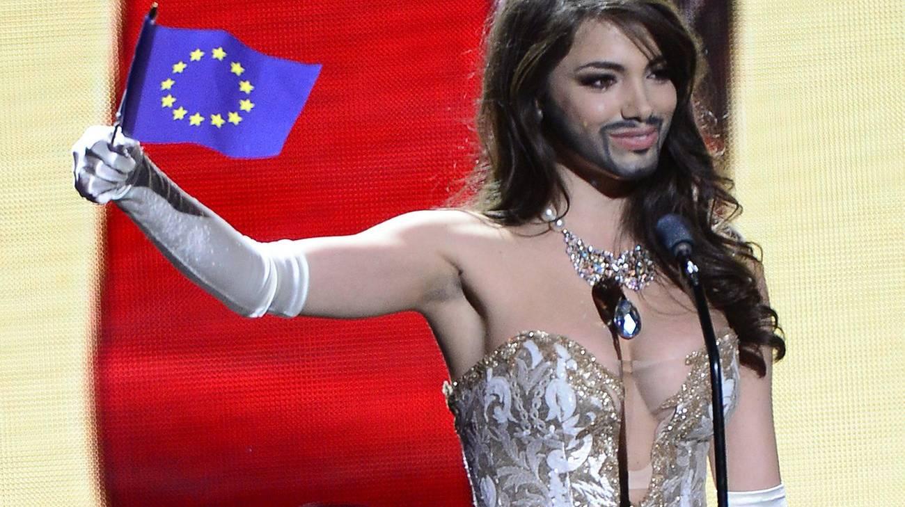 Conchita Wurst, cantante e drag queen austriaca, ha vinto l'Eurovision Song Contest nel 2014