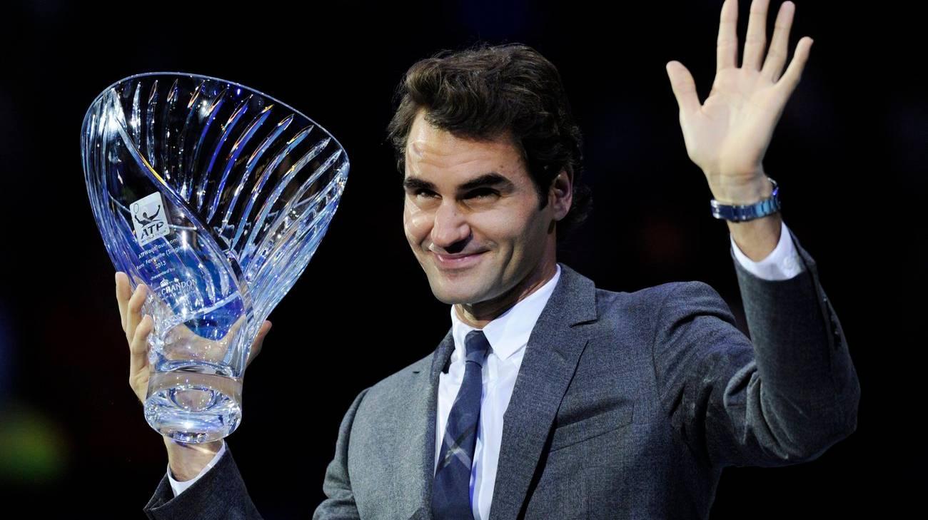 Dopo tanti allori sportivi, anche un riconoscimento accademico per il tennista svizzero
