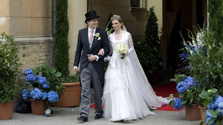 L'ultimo erede del ramo prussiano del nobile casato nel 2011 ha sposato la principessa Sophie von Isenburg