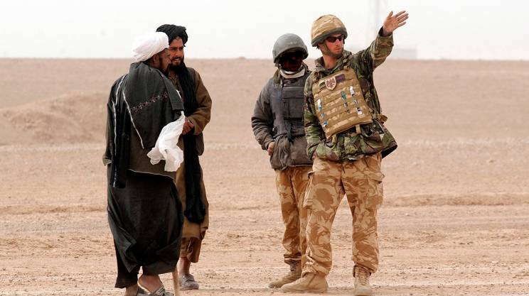 Il principe Harry in Afghanistan nel 2008