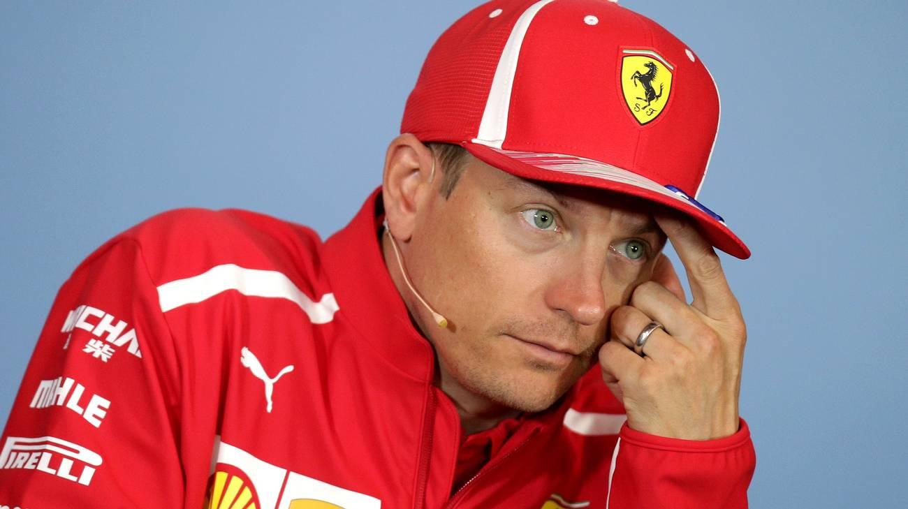 Kimi Räikkönen è stato coinvolto in un incidente stradale nel canton Zugo