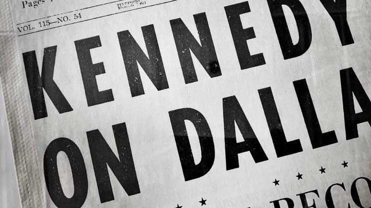 La prima pagina del Dallas Morning News del giorno dopo