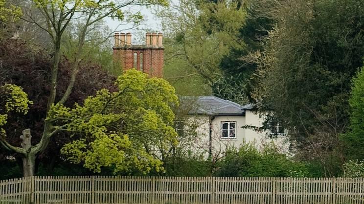Uno scorcio del Frogmore cottage