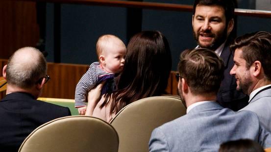 Un bebè alle Nazioni Unite