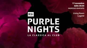 Mattia Zappa: la Purple Night