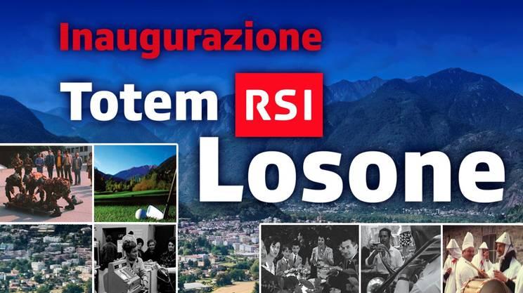 Nuovo Totem RSI a Losone