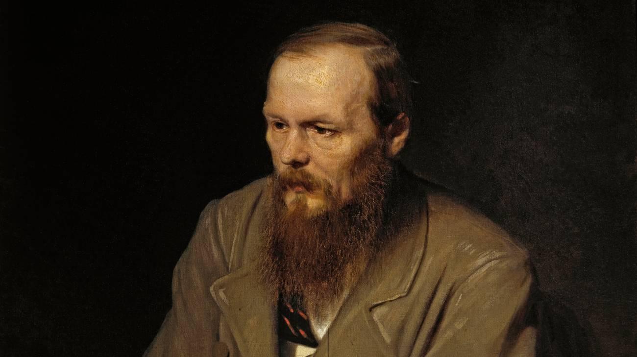 Fëdor Michajlovic Dostoevskij in un ritratto di Wassili Perow (1872)