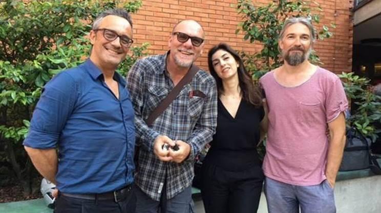 Da sinistra: Daniele Ornatelli, Claudio di Manao, Cinzia Spanò, Igor Horvat