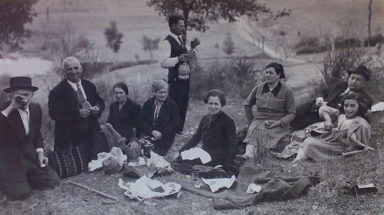 Amelia anni 20 - 30 foto di famiglia